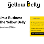How to Claim a Business Listing on The Yellow Belly